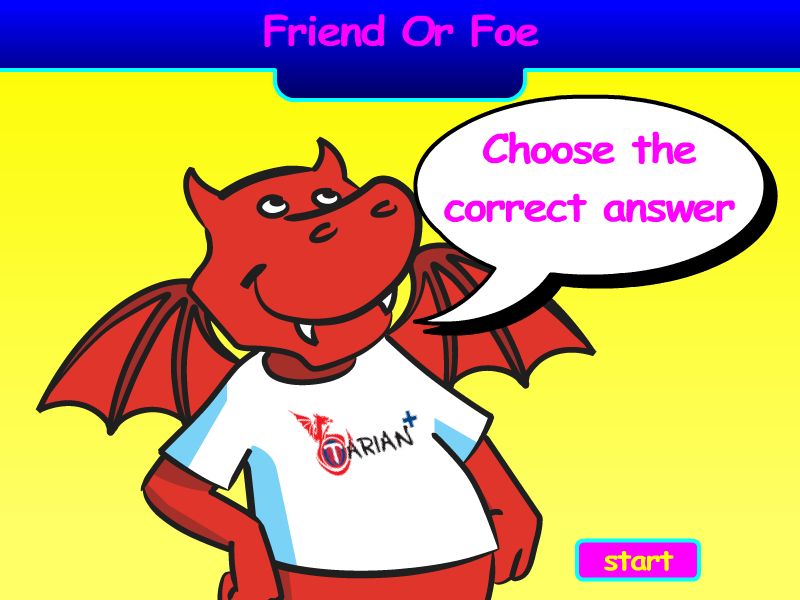 Preview of Quiz Friend or Foe?